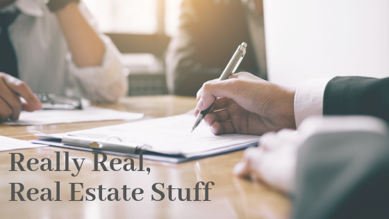 Really Real Real Estate Stuff – Agency Relationships
